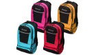 Four backpacks in different colors.