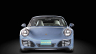 Porsche, front side.